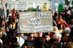 2nd Iraq War Protest Rally, Crowds, Protesting War, PRSV07P10_17