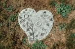 Our Dear Heart, Christian Gravestones, Granite, Stone, Graveyard, PTGV06P07_02