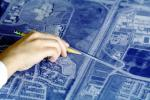 blue print, Architectural Renderings, Drawings, Paper, Map, hand, pointing, PWWV02P10_01