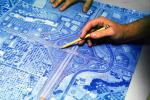 blue print, Architectural Renderings, Drawings, Paper, Map, hand, pointing, PWWV02P10_05