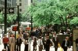 lunchtime, downtown, suits, walking, crowded, people, madmen, PWWV02P14_16
