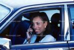 Woman, Female, Phone, Limousine, Business Woman, Cell Phone, handheld device, talking, connected, connecting, cellphone