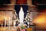 Mother Mary, Altar, Flowers, La Madeleine Church