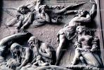 bas-Relief, Angels, Woman, Man, Child, Cain and Abel, Ten Commandments, RCTV01P09_10