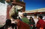 Golden Dragon, Shrine, buildings, people, Lhasa, RCTV03P09_17