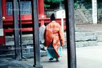 Shinto Priest, Man, Shinto Buddhism, Temple, RCTV03P14_12