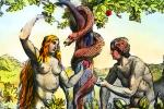 Adam and Eve, the forbidden fruit, Snake, Forbidden Fruit, RCTV10P13_13B