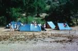 Tents, Campsite, Sandy Beach, Forest, RVCV01P06_14