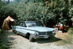 1960 Buick Electra 225, trees, tent, Cars, vehicles, 1960's