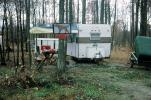 Trailer, Ohio, April 1974