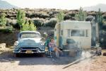 Hummingbird Camper, Trailer, Oldsmobile, BBQ, Barbecue, Car, vehicle, August 1959, 1950s