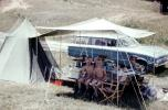 Boys, Tent, Ford Falcon Stationwagon, Car, vehicle, Mauthe Lake, Campbellsport, 1962, 1960s, RVCV02P08_10