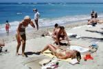 Waikiki Beach, Women, Relaxation, 1960's
