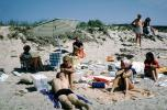 Beach, sand, Cape Cod Massachusetts, July 1965, 1960's, RVLV01P03_17