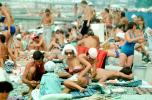 woman, women, bikini, sun tan, Beach, crowds, Sochi