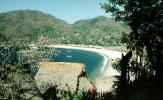 Beach, sand, water, trees, Yelapa, Mexico, RVLV01P12_13