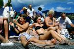 Sun Worshippers on a Boat in Hawaii, RVLV02P05_19