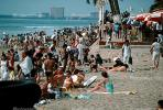 Beach, Crowds, Sand, Sun Worshippers, Puerto Vallarta