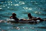 Kings Beach, North Shore, Lake Tahoe, Water, Air Mattress, Floating