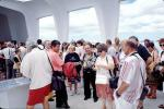Arizona Memorial, Pearl Harbor, Honolulu, Oahu, Battleship, crowds, RVLV05P04_15