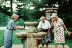 Water Fountain, aquatics, Fountain of Youth, Saratoga Spa, 1981, 1980s