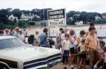Martha's Vineyard, Woods Hole, Beach, Sand, Car, Automobile, Vehicle, Massachusetts, 1970s