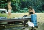 Boy Standing on a Picnic Table, RVPV01P04_09