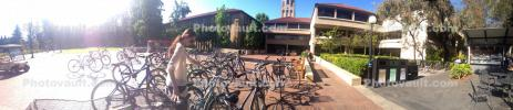 Stanford University, Hoover Tower, buildings, Campus, SBYD01_035