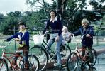 Family out on Bicycles, Tiburon, 1978, SBYV01P01_05