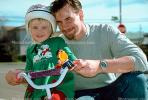 Dad and Daughter, smiles, cute, helmet, headgear, SBYV03P06_08.2662