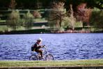 Boy, lake, park, trees, water, helmet, Ottawa, Canada, SBYV03P06_11