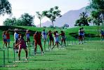 Driving Range, practice, golfers practicing, Palm Springs, SGFV01P09_16