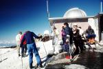 Telescope and Skiing, Muana Kea, the Big Island