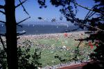 Crowds, People, Field, Opening Day, Crissy Field, Celebration, 6th May 2001, SKTV01P15_11