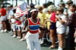 OJ Simpson carrying the Olympic Torch, Ocean Blvd, SOLV01P02_16