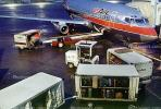 N327AU, Boeing 737-2B7, US Airways, 737-200 series, JT8D, Belt Loader, TAFV02P15_18