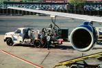 Boeing 757, Rolls-Royce RB-211 Jet Engine, Refueling Truck, Fuel, Burbank-Glendale-Pasadena Airport (BUR), Ground Equipment, TAFV13P07_15