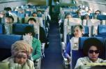 Passengers inside a cabin, April 1966, 1960s, TAIV01P03_03