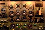 Engine Dials, steam gauges, de Havilland Canada Dash-8