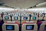 Empty Cabin, Seats, IFE, In flight entertainment, Television, seating
