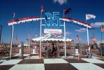 95th National Air Races, Reno, Entrance Gate, Arch, Flags, Tent, Fence, TASV02P10_10.0379