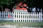 White Picket Fence, Ponce De Leon Lighthouse, Florida, East Coast, Eastern Seaboard, Atlantic Ocean, TLHV02P06_18