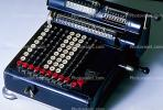 Mechanical Adding Machine, Antique, Old-fashioned, keyboard, 1930's, TMAV01P02_02.0166