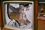 glass shattered, TV, Television, TMRV01P03_04
