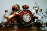 Lion, Unicorn, Royal Clock, Roman Numerals, Crown, TMWV01P01_03