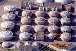 Digesters, enclosed tanks, Wastewater Residuals, Huntington Beach, California, TOSV01P08_14