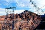 Hoover Dam, Tower, Transmission Towers, Pylons, TPDV01P05_03