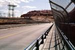 Glen Canyon Dam bridge, steel arch bridge, US Highway 89, truss, Page, Arizona, TPHV01P05_13
