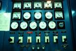 Indoors, Dials, Instruments, Panel, Electronics, switches, Control Room, Wells Dam
