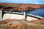Glen Canyon Dam, concrete arch-gravity dam, Page, Arizona